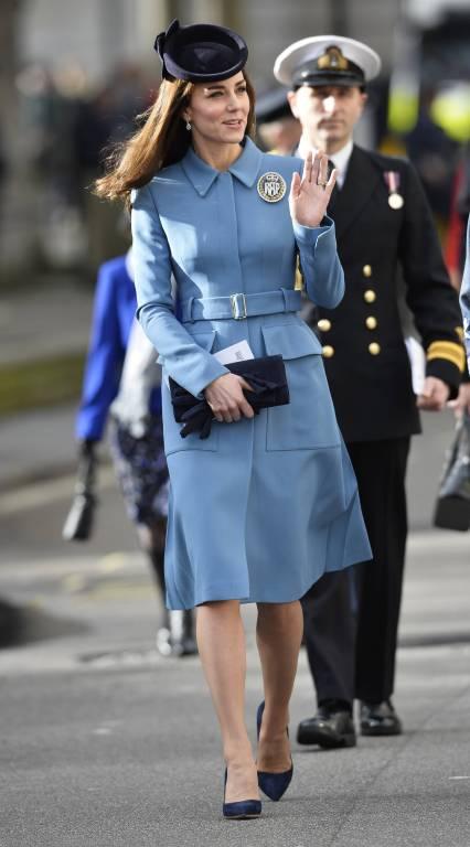 Herzogin Kate hat keine konkrete Lieblingsfarbe. Sie mag aber Weiss und Rosa gern, wie sie einmal verraten hat.  ©imago/ZUMA Press