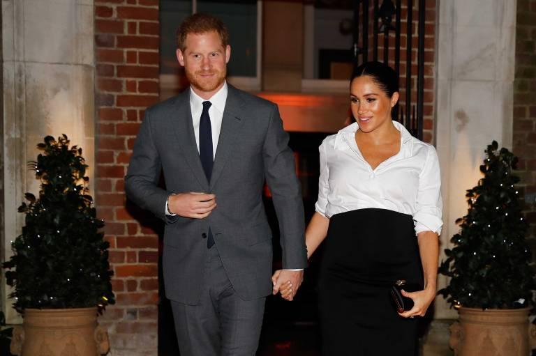 Mutet sie sich zu viel zu? Herzogin Meghan ist hochschwanger und will tatsächlich nach Marokko reisen.  ©imago/Starface