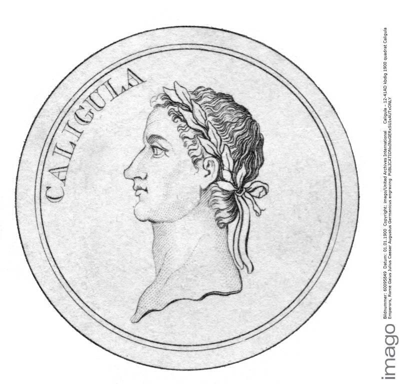 Caligula hatte eine Vorliebe für grausame Gladiatorenkämpfe.  ©imago images / United Archives International