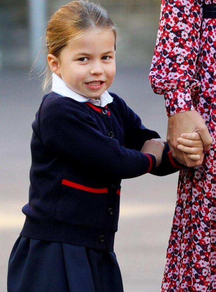 Prinzessin Charlotte mag außerdem die Farbe Pink und den Grüffelo. © imago images / i Images