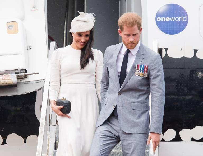 Ganz schön voller Terminkalender: Herzogin Meghan und Prinz Harry haben während ihrer Afrika-Tour ziemlich viel vor.  ©imago images / i Images