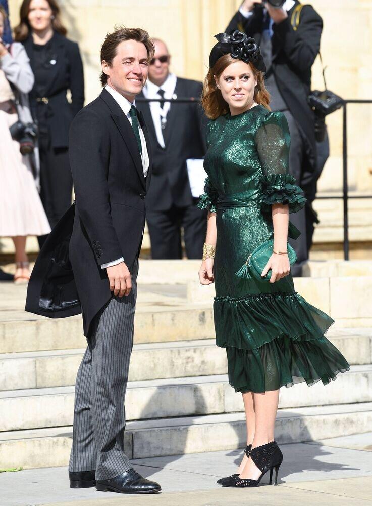 Ihre Liebe ist noch frisch: Erst seit 2018 sind die Tochter von Prinz Andrew und ihr Freund ein Paar.  © imago images / PA Images