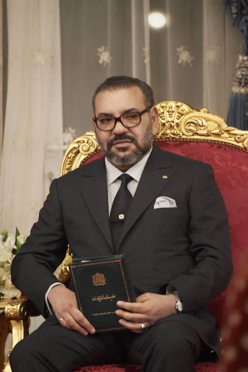 König Mohammed kämpft gegen eine Lungenentzündung.  © imago images / PPE