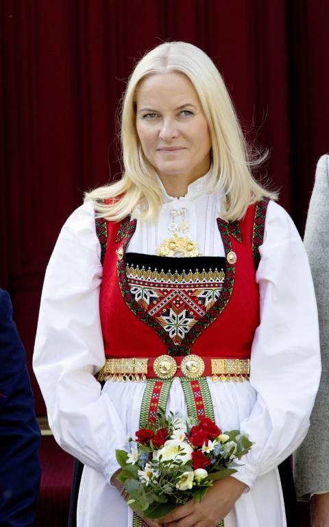 Kronprinzessin Mette-Marit ist   Botschafterin   für norwegische Literatur.  ©imago images / PPE