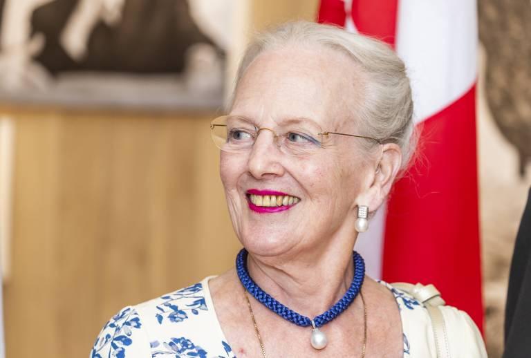 Königin Margrethe erklärt, warum für sie ein Rücktritt vom Thron nicht in Frage kommt.  © imago images / Scanpix