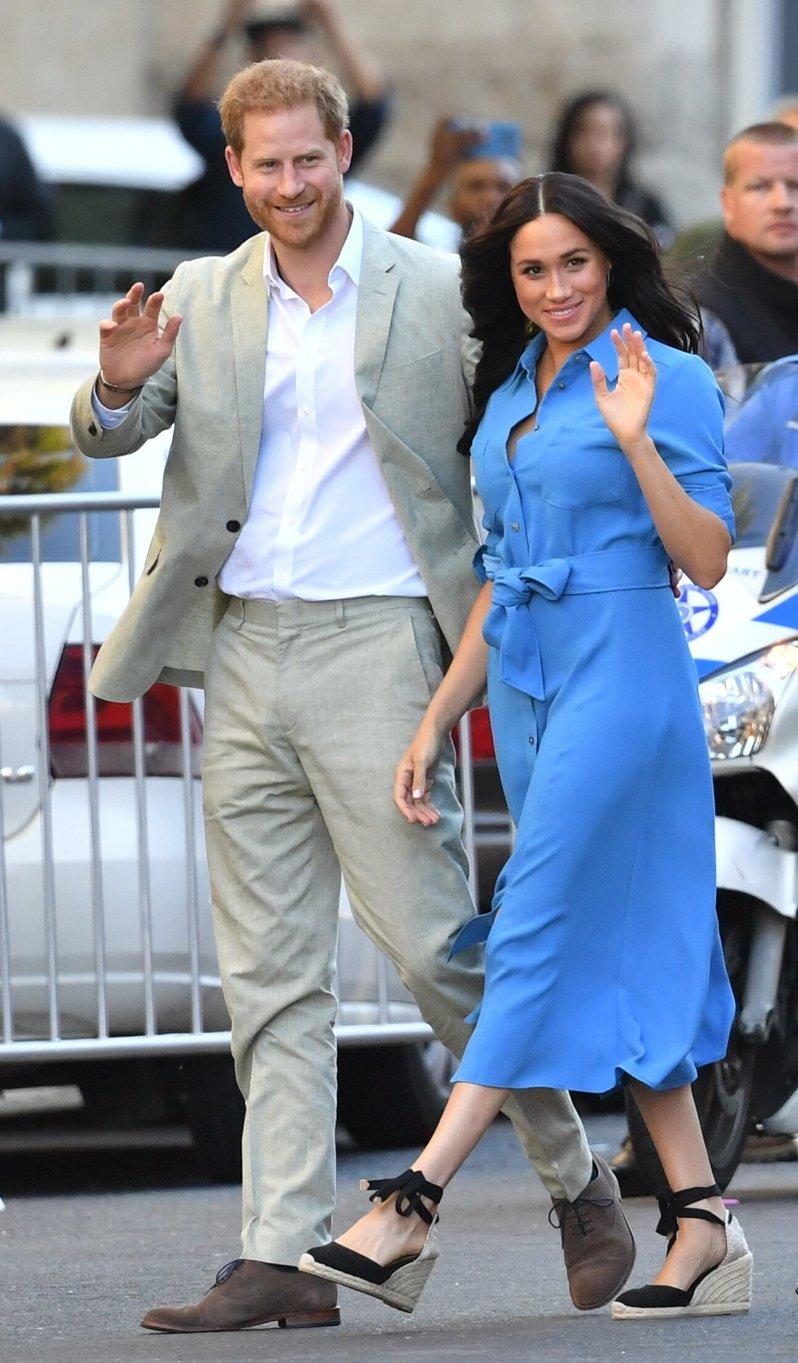 Prinz Harry und Herzogin Meghan kehren der Königsfamilie an Weihnachten den Rücken. Sie feiern ohne die Windsors.  © picture alliance / empics