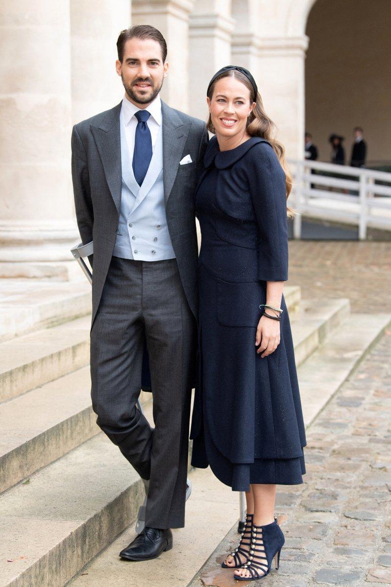 Prinz Philippos ist bereits vergeben. Nina Flohr hat sein Herz erobert. © picture alliance / abaca