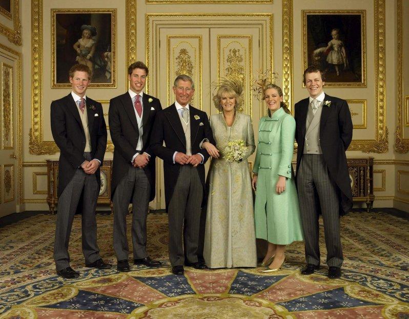 Happy Family: Prinz Harry und Prinz William haben die zweite Ehefrau von Prinz Charles akzeptiert. Sie verstehen sich auch mit den Kindern von Herzogin Camilla.  © epa-Bildfunk