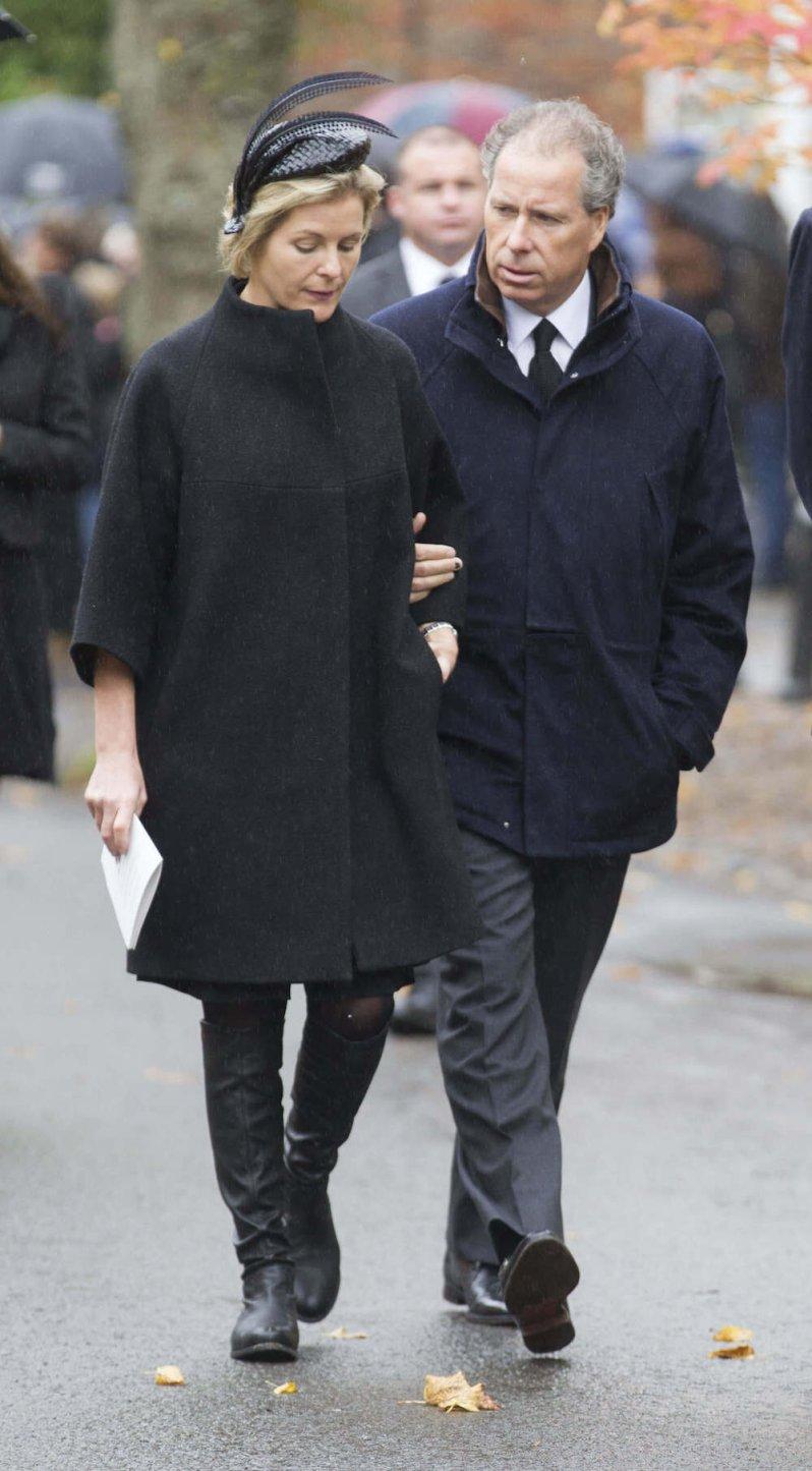 David Armstrong-Jones, der Earl von Snowdon, und seien Frau Serena haben sich getrennt.  © picture alliance / ZUMA Press