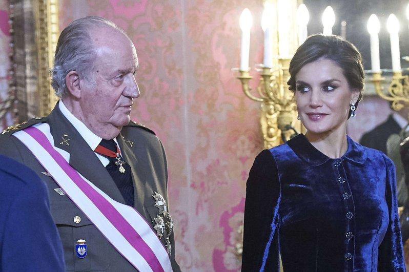 Juan Carlos und Königin Letizia sind beides Alphatiere. Sorgt das für Spannungen zwischen Schwiegervater und Schwiegertochter? © picture alliance/PPE