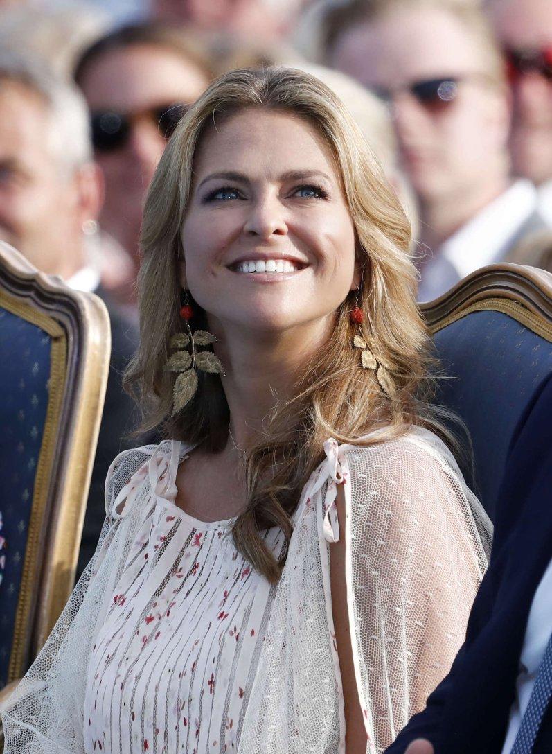 Prinzessin Madeleine lebt mit ihrer Familie in Florida. Mit ihrem Ehemann Christopher O'Neill hat sie die drei Kinder Leonore, Nicolas und Adrienne. © picture alliance/IBL Schweden