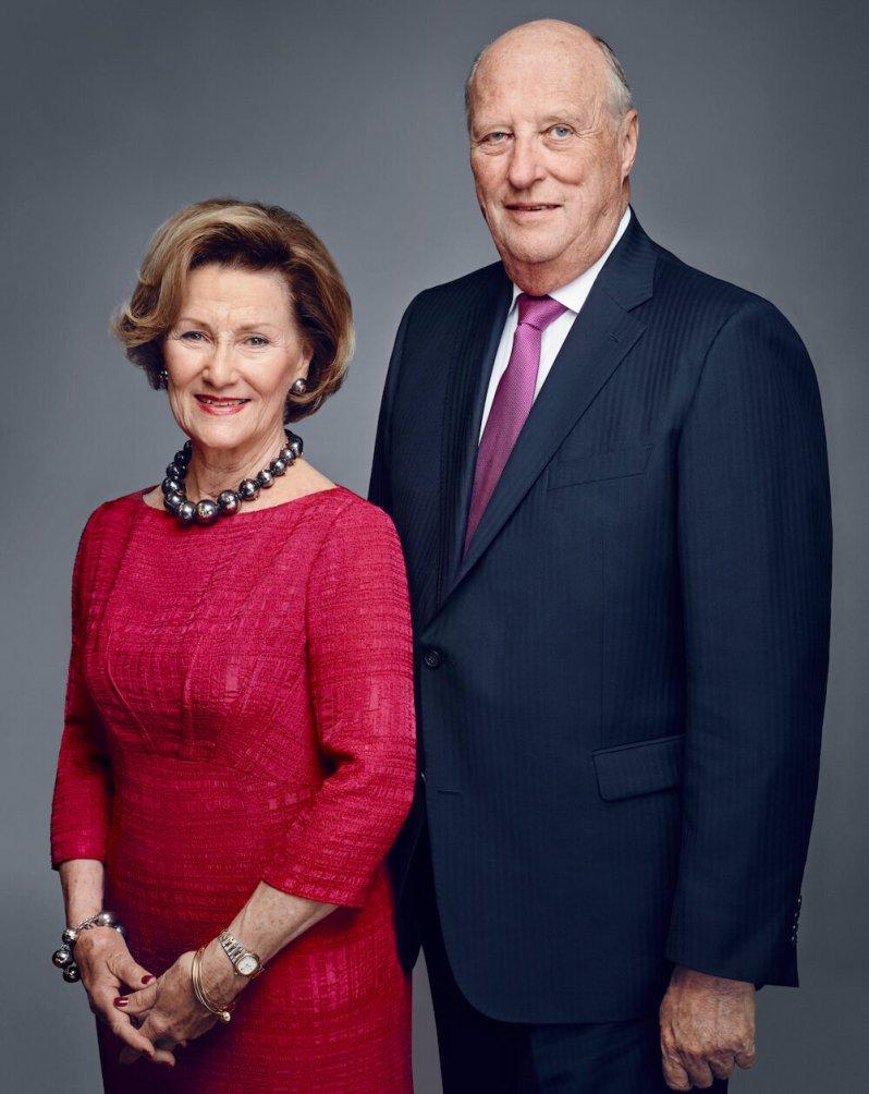Königin Sonja und König Harald befinden sich in häuslicher Quarantäne.  © Jørgen Gomnæs / Der königliche Hof