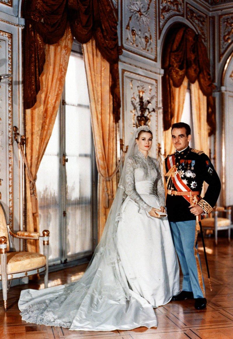 Ein Märchen, das tragisch endete: Fürstin Gracia Patricia starb 26 Jahre nach der Hochzeit bei einem Autounfall. © dpa - Report