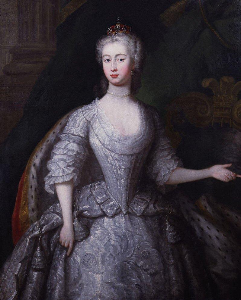 Mit 16 Jahren wurde Augusta ohne die Landessprache zu sprechen nach England geschickt, um den 12 Jahre älteren Prinzen Frederick zu heiraten. Mit der Situation war das junge Mädchen total überfordert.  © Public Domain