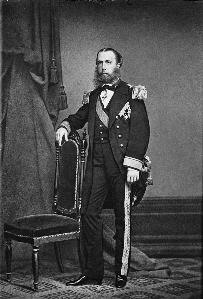 Maximilian von Mexiko war bis zu seinem Ende tapfer. Er versicherte den Soldaten, dass sie nur ihre Pflicht tun würden und steckte ihnen sogar Goldmünzen zu. © Gemeinfrei