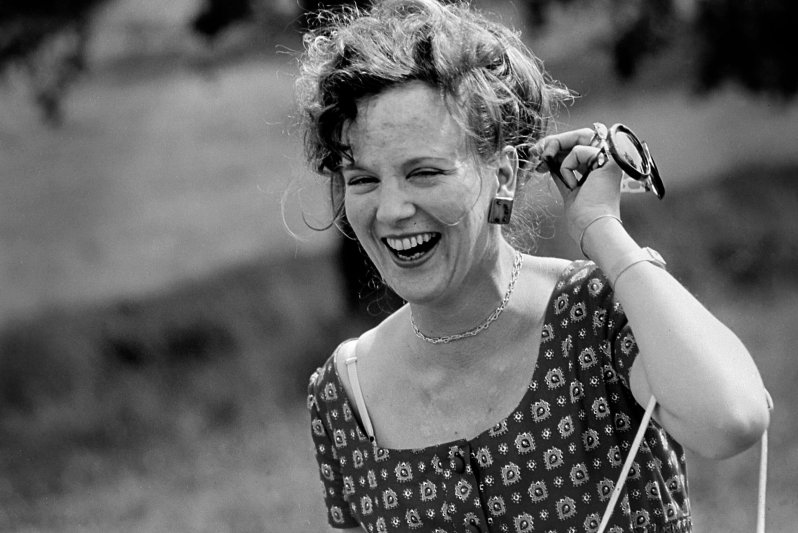 Königin Margrethe genießt die unbeschwerte Zeit im Sommerurlaub in Frankreich.  © picture alliance/Scanpix Denmark