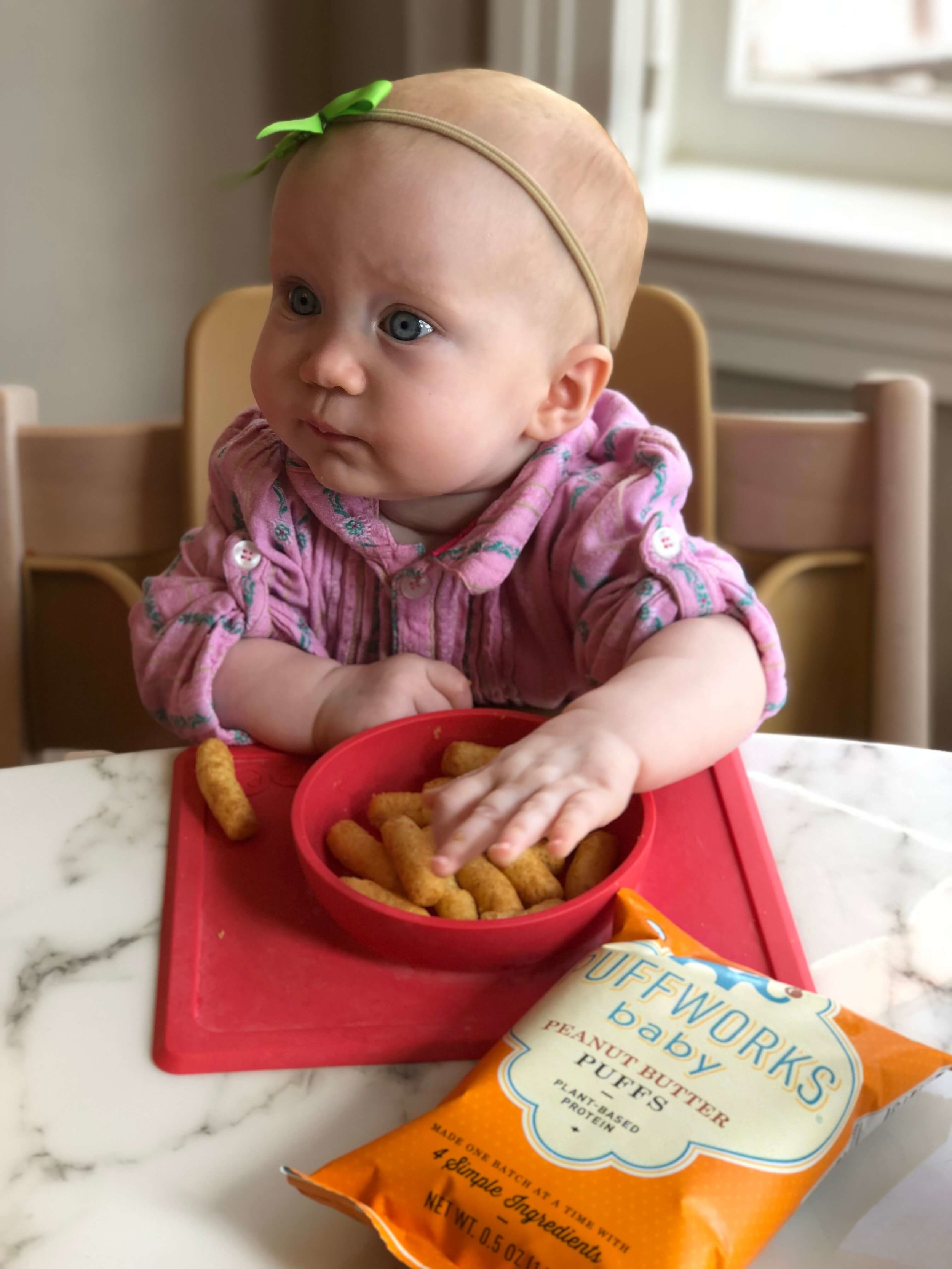 When Can Babies Eat Puffs : babies, puffs, Puffs, Peanut, Protein, Choice, Fortified, Family