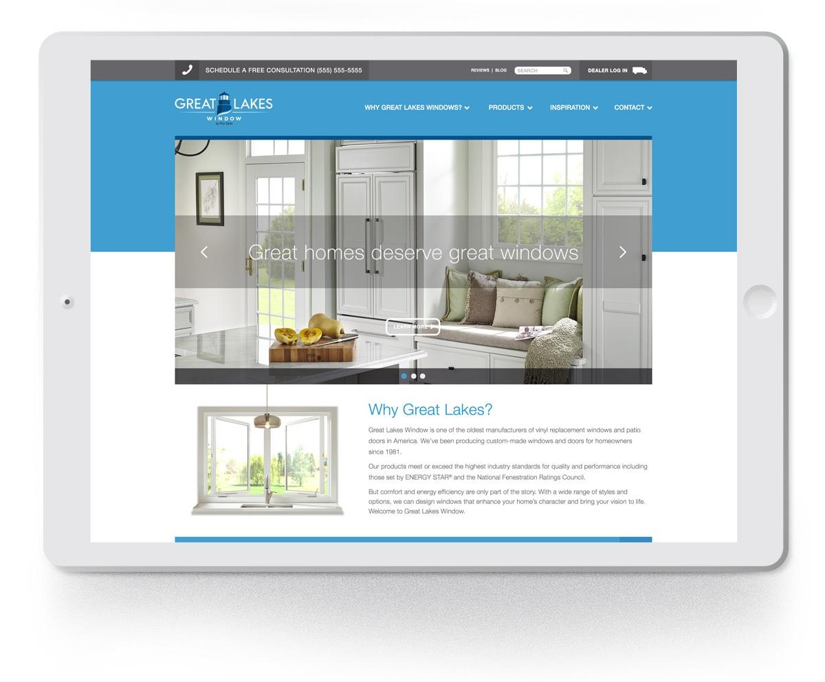 great lakes window brand website