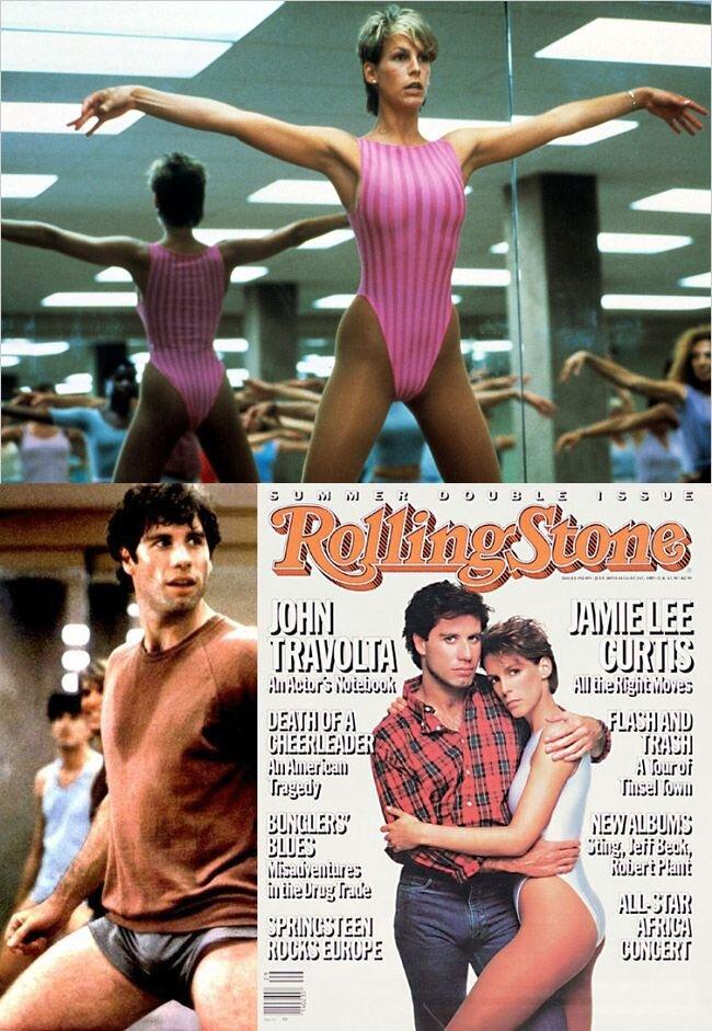 Jamie Lee Curtis John Travolta Gif : jamie, curtis, travolta, Travolta/Cage, Project, #21/My, World, Flops, Sweaty, Palaces, Perfect, (1985), Nathan, Rabin's, Happy, Place