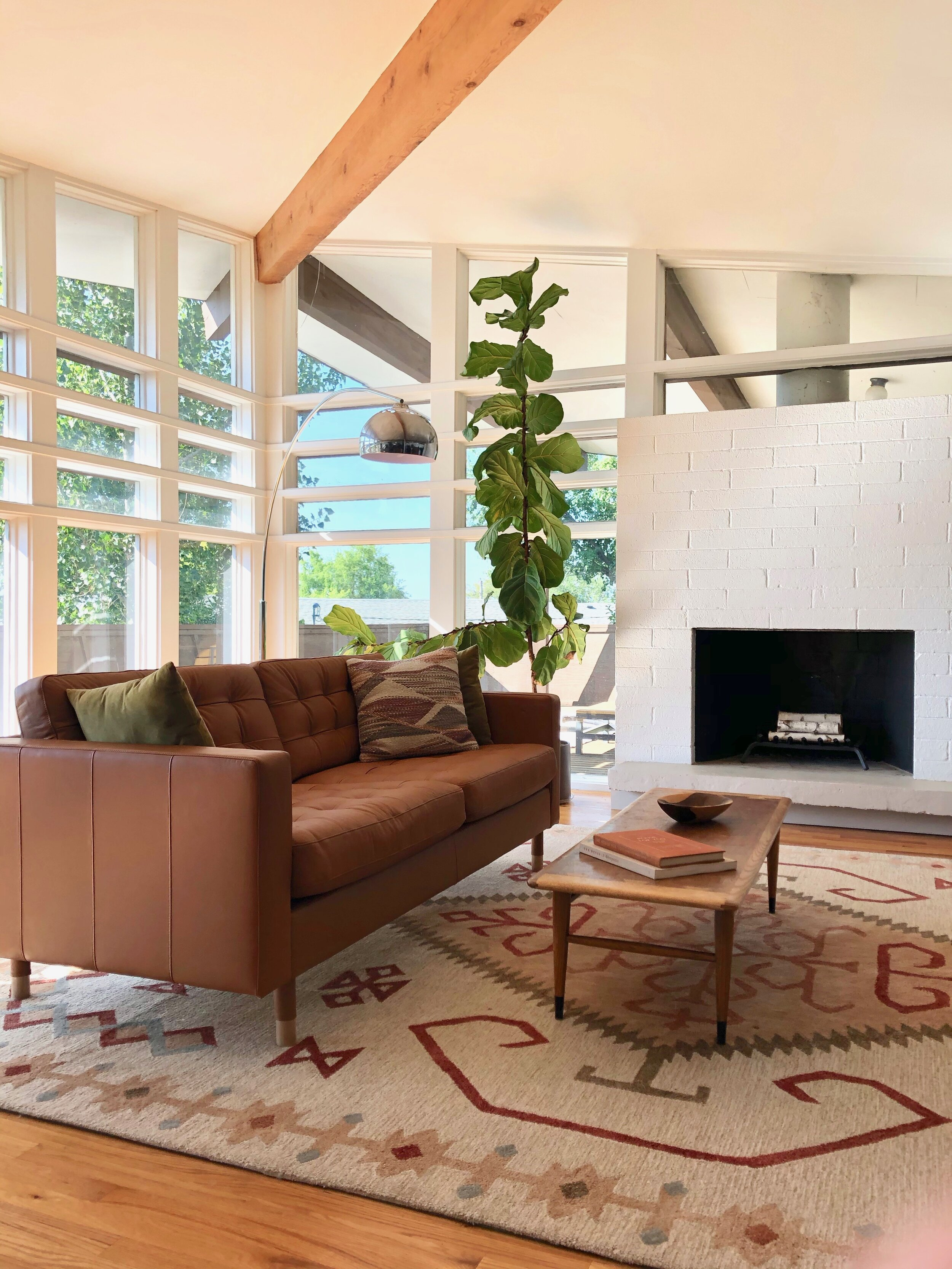house tour post and beam living