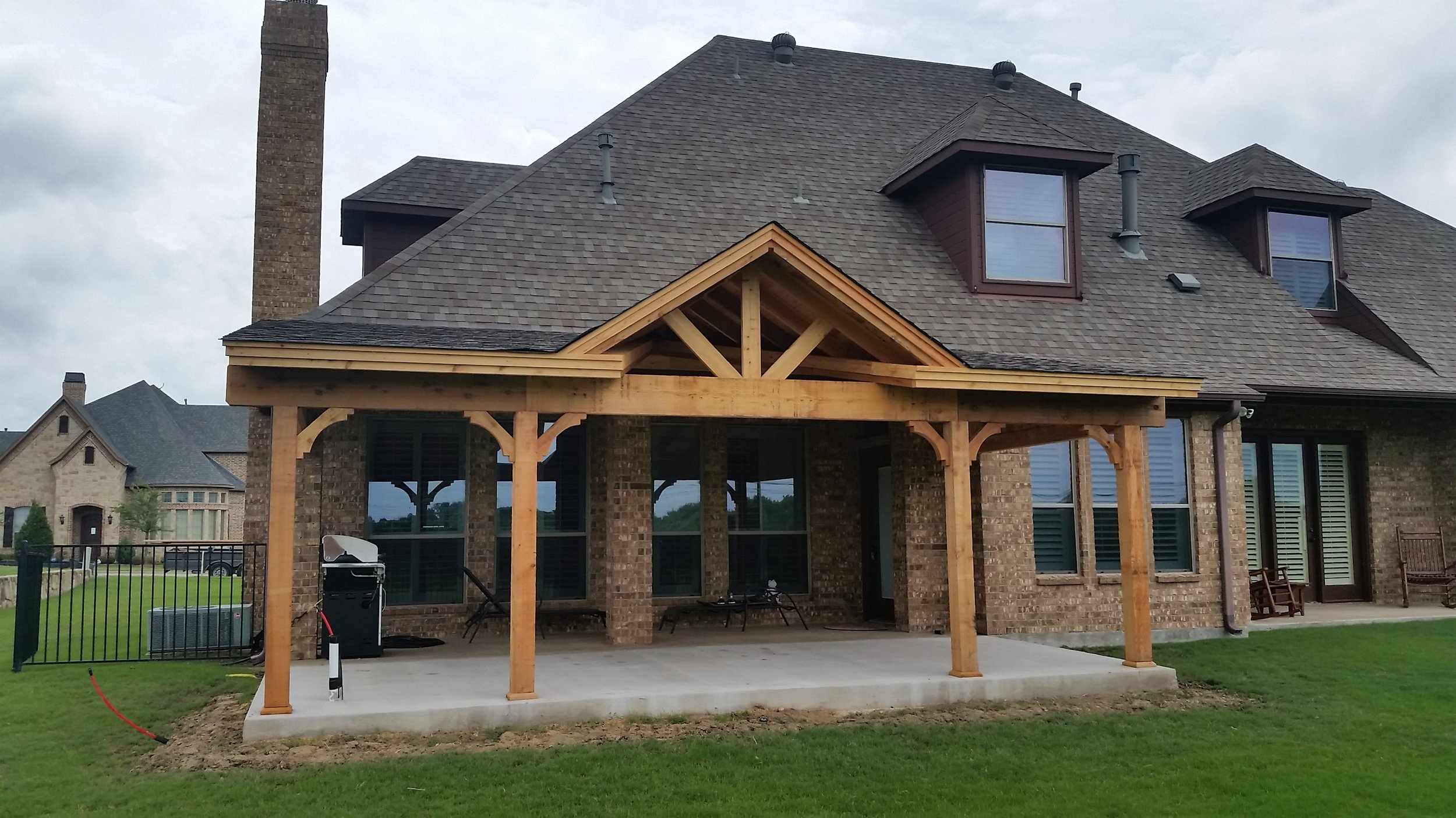 shed style deck master s patios