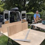 Ford Transit Connect Camper Van Conversion Storage Components Content Co