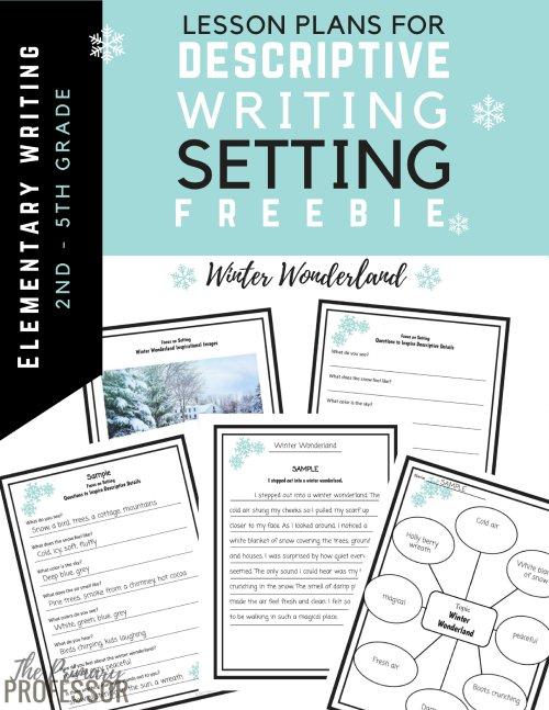 small resolution of Descriptive Writing Lesson - A Winter Setting — TeachWriting.org