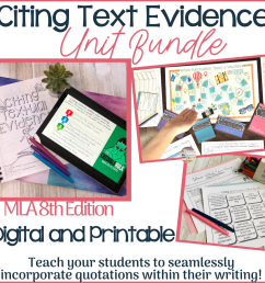 Citing and Embedding Quotations Games and Activities — TeachWriting.org [ 1000 x 1000 Pixel ]