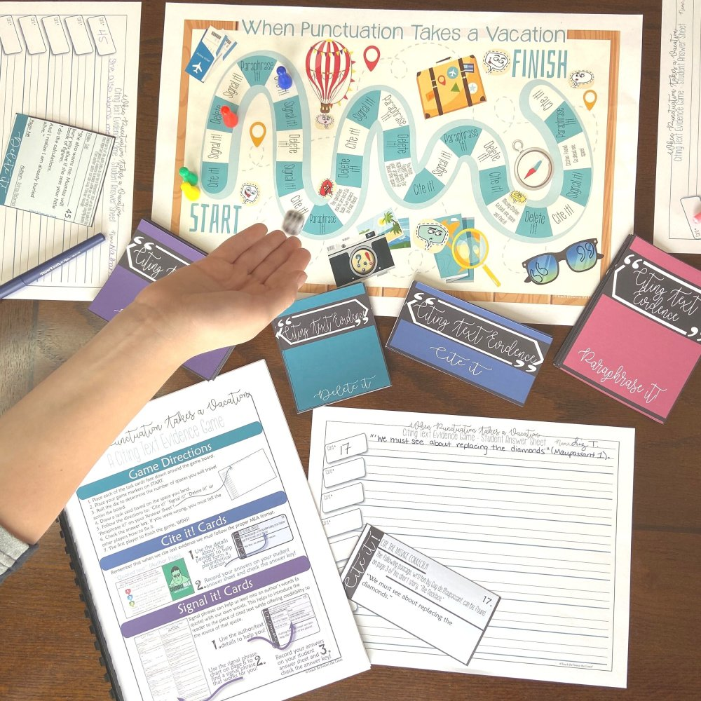 medium resolution of Citing and Embedding Quotations Games and Activities — TeachWriting.org