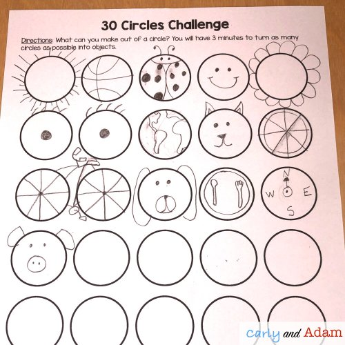 small resolution of Creativity Challenges and STEM (Includes a Free Creativity Challenge) —  Carly and Adam