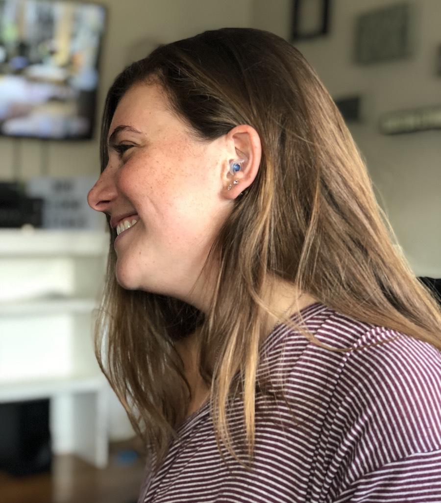 eight pairs of earplugs
