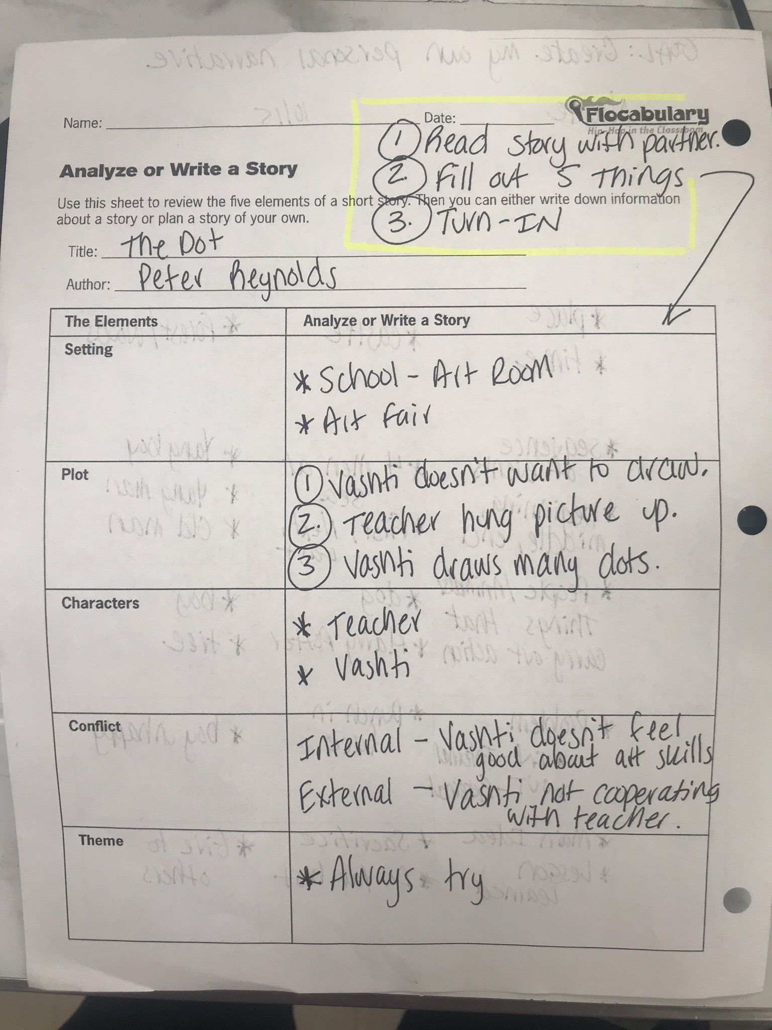 hight resolution of All About Narrative Writing: Pacing