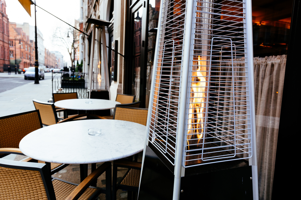 outdoor patio heaters most common