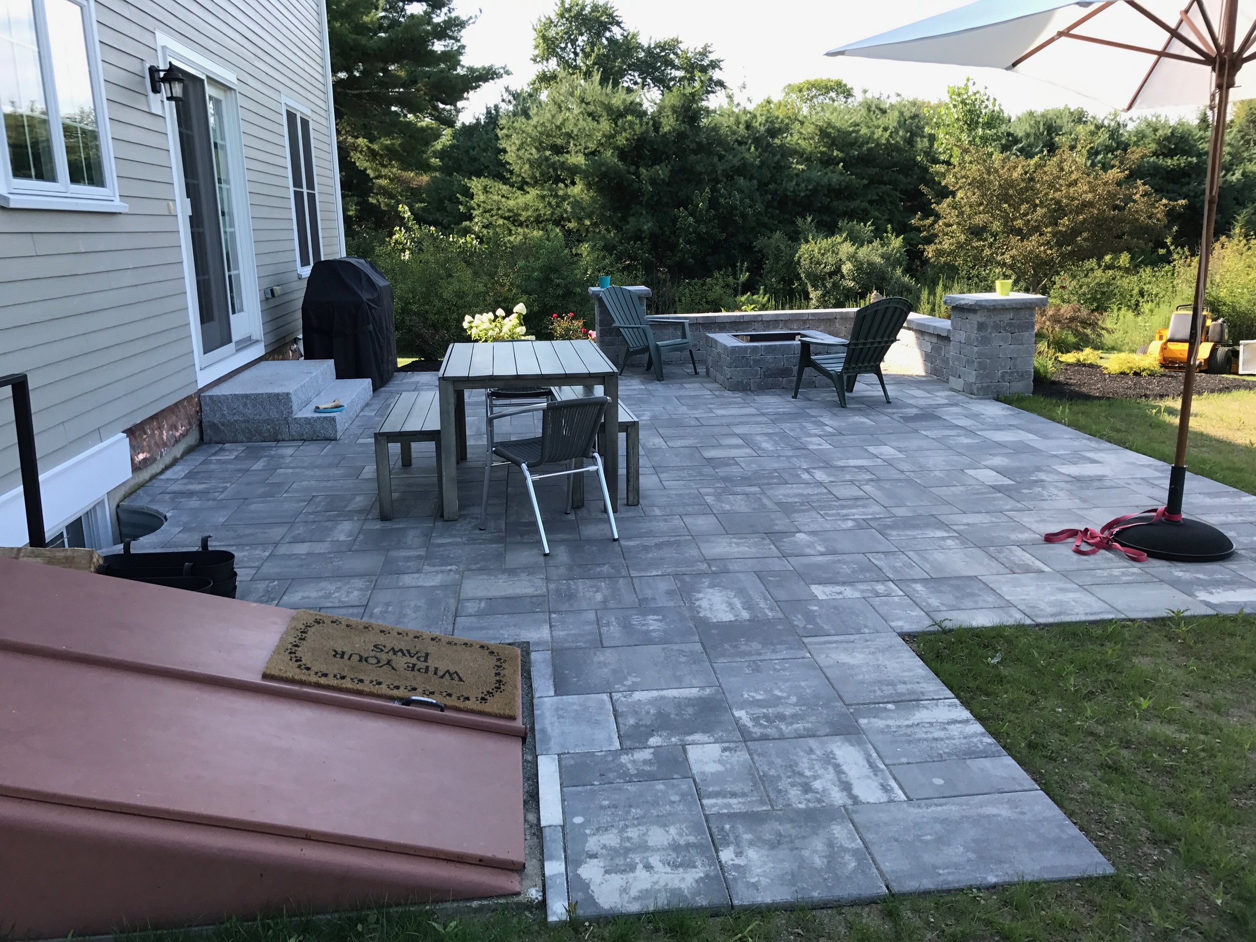 don ts of paver patio installation