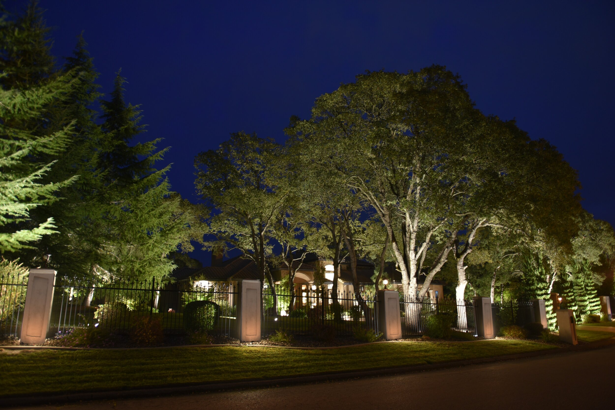 elegant outdoor lighting