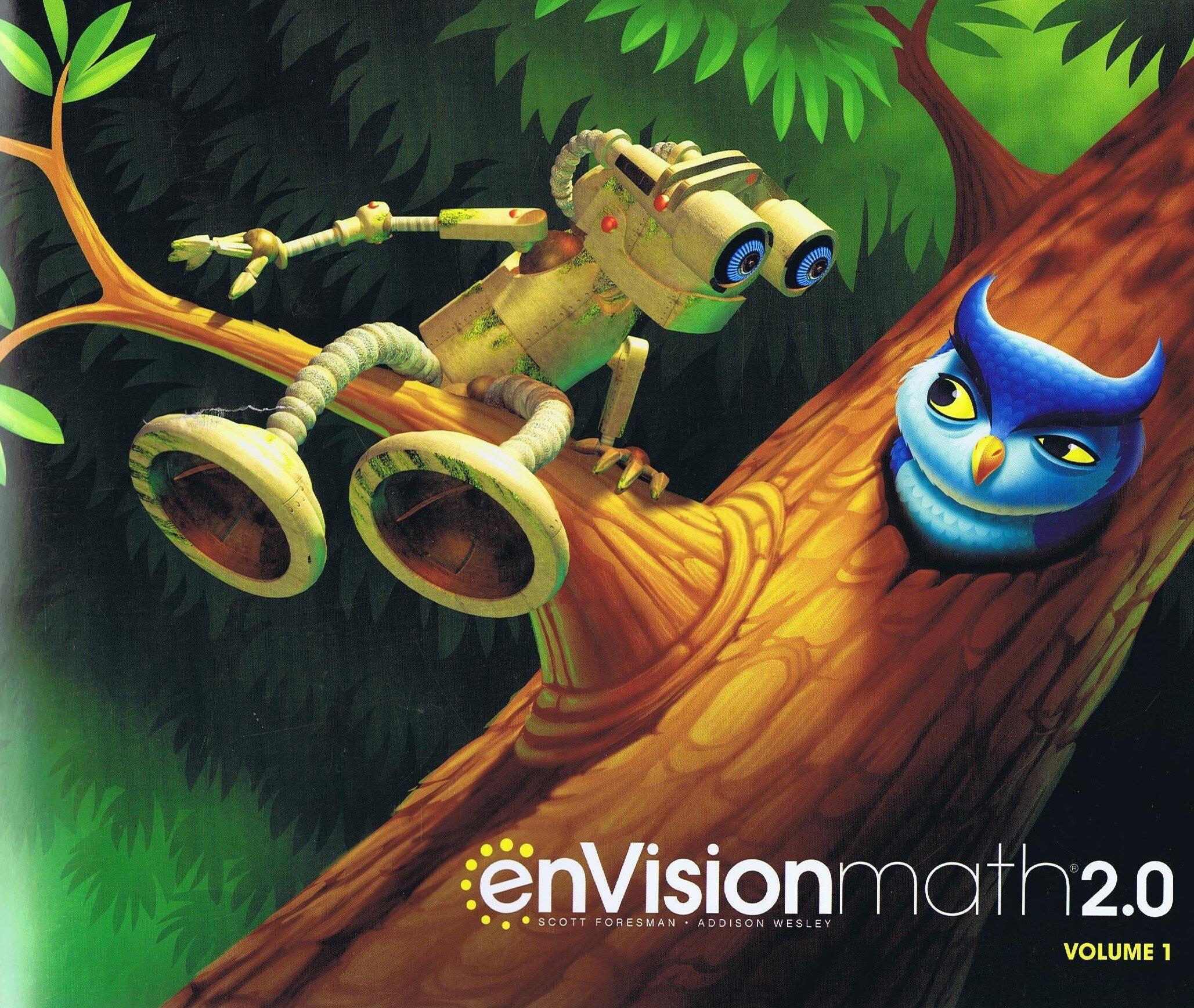 small resolution of Pearson Envision Math 2.0 Grade K~ 8 Volume 1