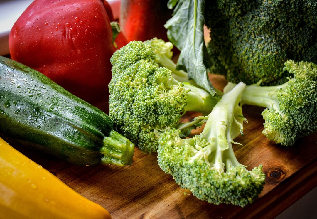 vegetables for meal prep