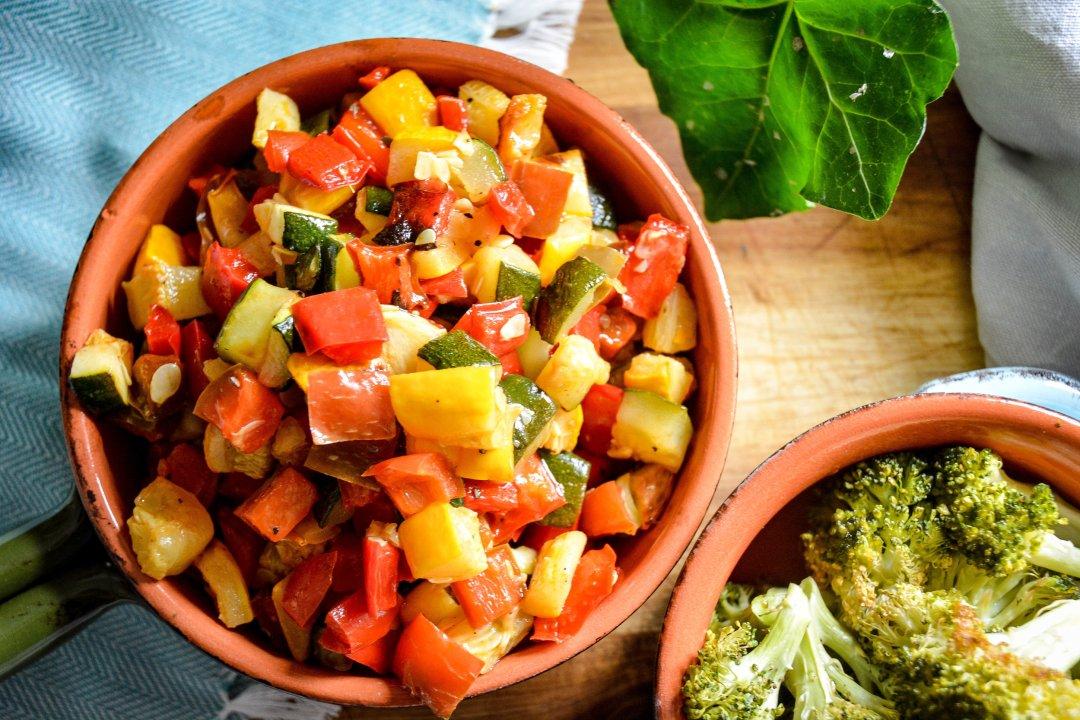 easy roasted vegetables