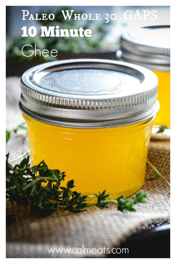 Every traditional culture agrees that ghee is essential to health and well being. Ghee is essentially clarified butter which is easily tolerated even by those with lactose intolerance. Check out this simple 10 minute recipe for turning grass fed butter into ghee. #ghee, #calmeats, #lactosefree, #caseinfree, #homemadeghee, #guthealth, #paleo, #gaps, #whole30, #clarifiedbutter, #traditionalfood #healthyrecipes