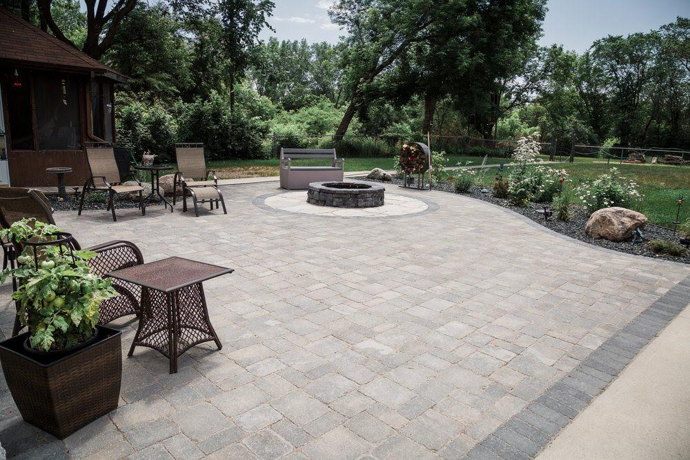 stone patios paving stone landscaping contractor winnipeg