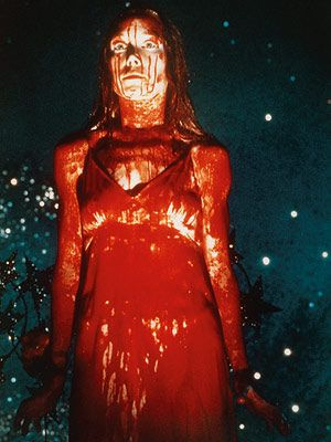 Sissy Spacek in the 1976 film, Carrie.