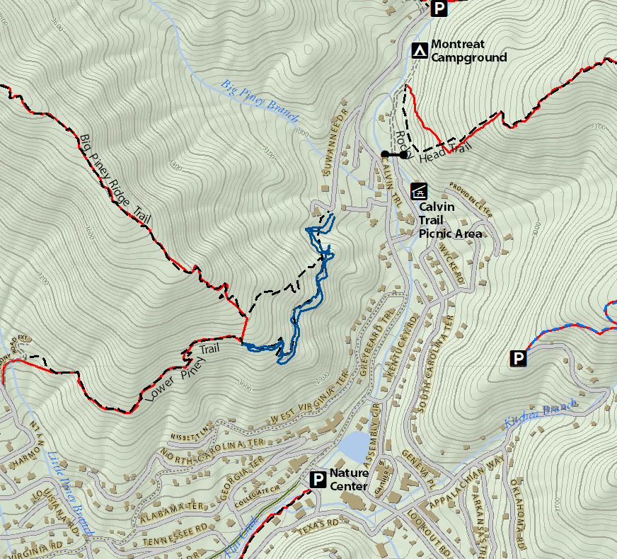 Nobscot scout reservation conservation restriction, sudbury. Black Mountain Nc Montreat Trail System Pisgah Map Co