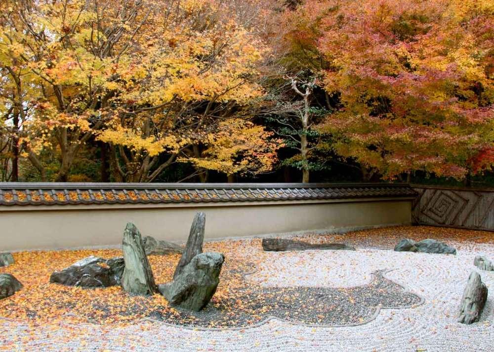 Традиционный японский сад