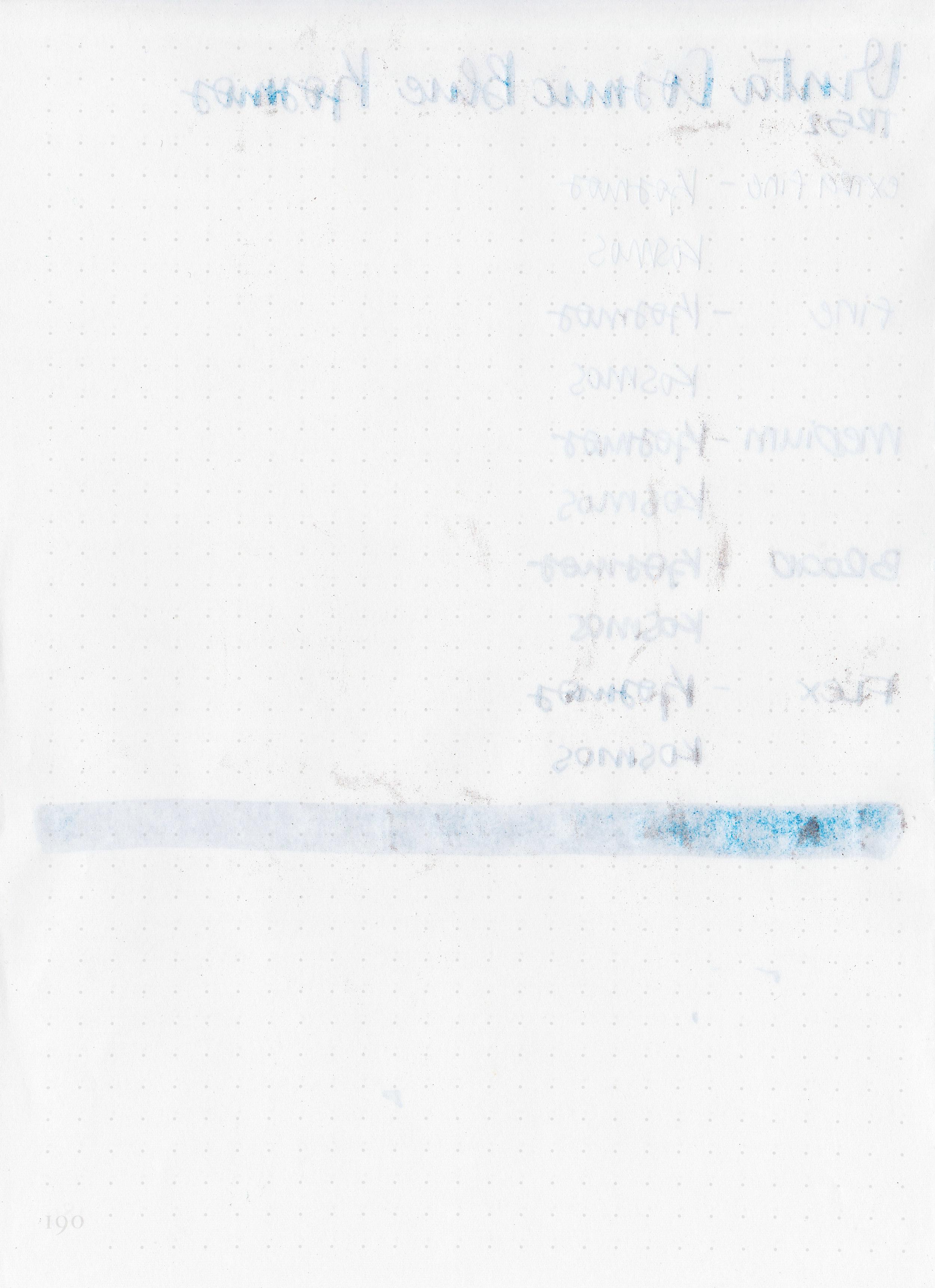 Ink Review #832: Vinta Cosmic Blue Kosmos 1955 — Mountain