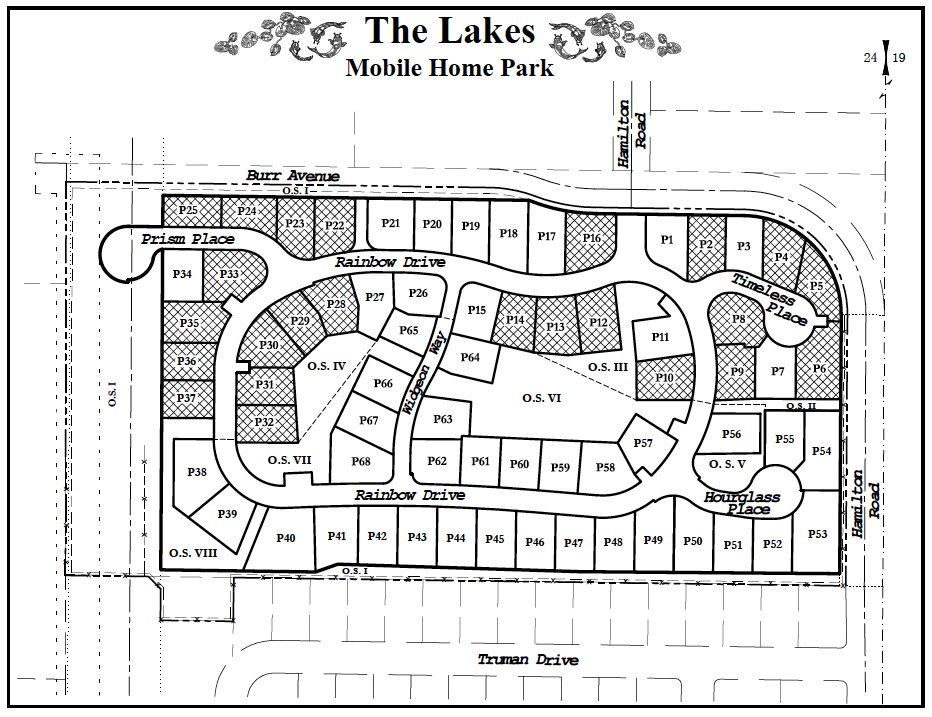 Site Plan at The Lakes — Discover Affordable 55+ Living in