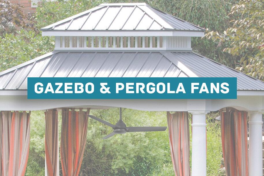 14 best gazebo fan ideas pergola and