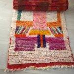Moroccan Vintage Boujad Carpet Runner Rothko Aventyr