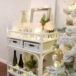 A Twilight Christmas Bar Cart Hop House Full Of Summer Coastal Home Lifestyle