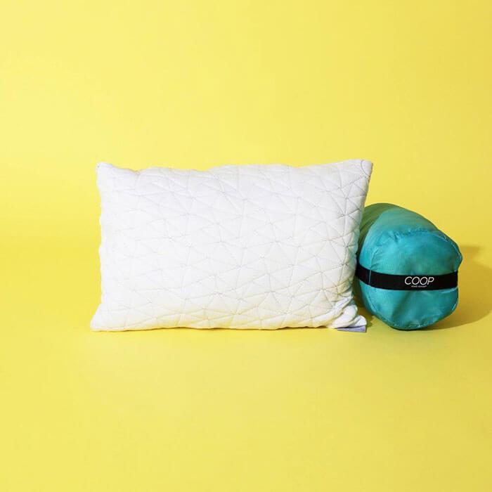 eco friendly travel neck pillows
