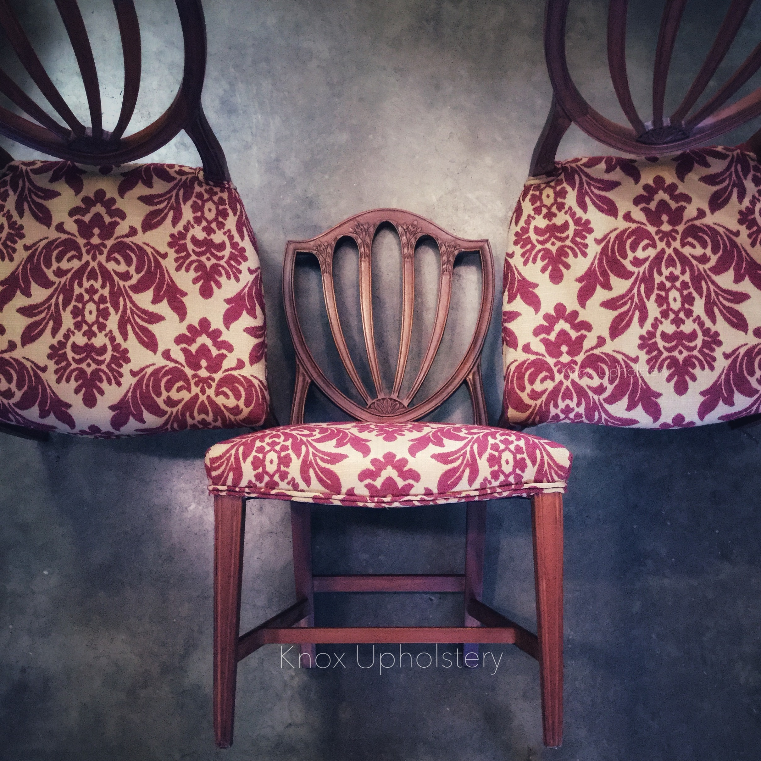 Knox Upholstery Knoxville Tennessee Hepplewhite Dining Room Chairs
